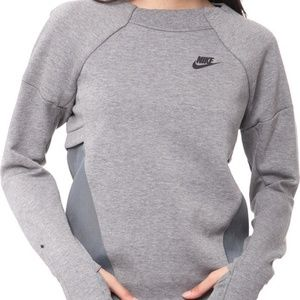 Nike Tech Fleece Mesh Crew Womens Sweatshirt 72585